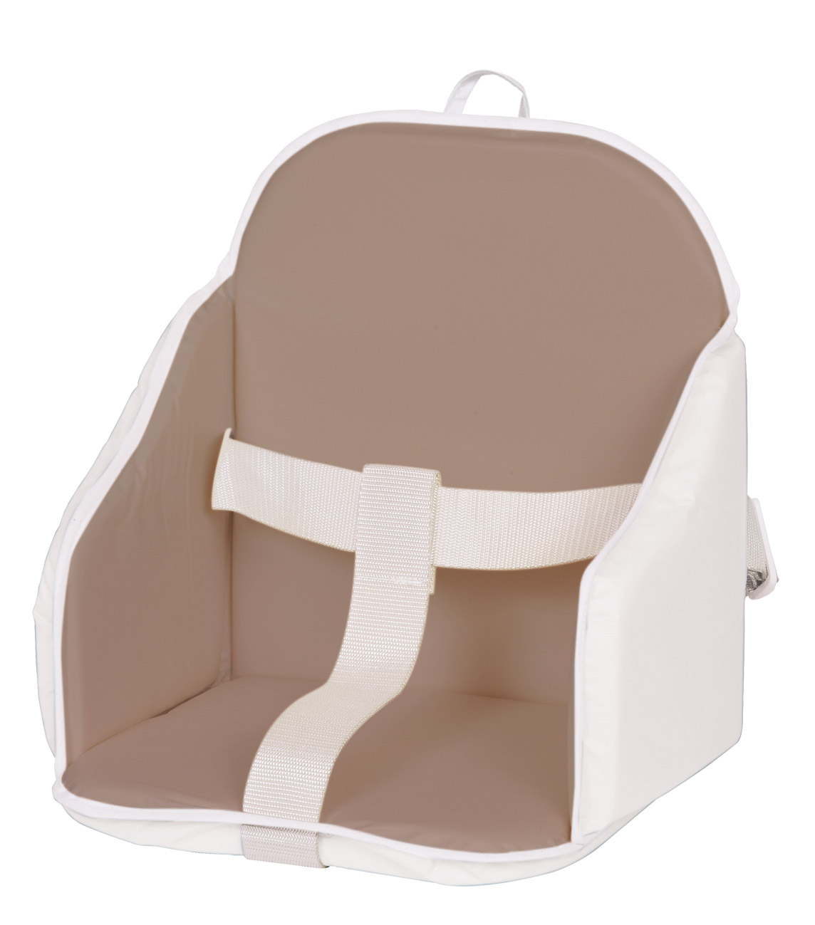 Highchair Cushion Taupe White Products And Accessories