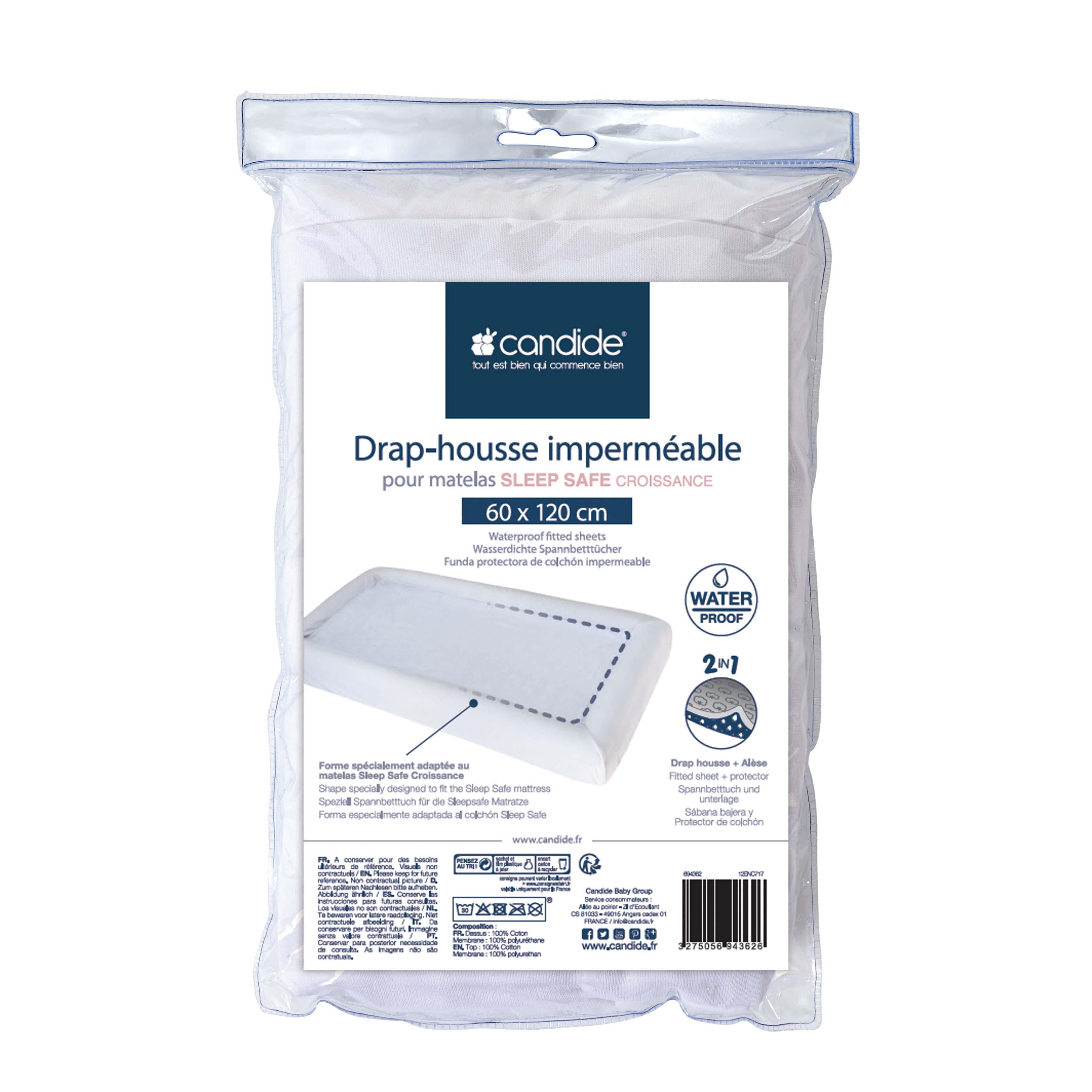 drap housse imperméable Copie de Drap housse imperméable Blanc   Products and accessories  drap housse imperméable